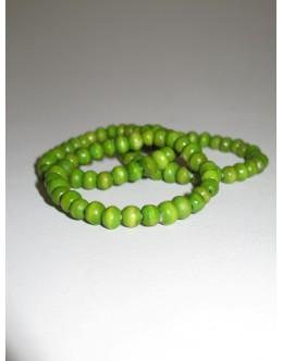 Træarmbånd, Lime med lille perle